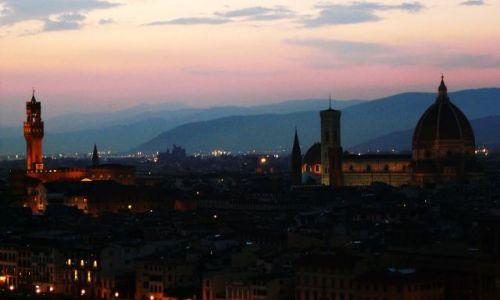 Zdjecie WłOCHY / Toskania / Florencja / Florencja przed zmierzchem