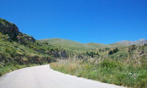 WłOCHY / Sycylia / na trasie / Trasa z San Vito do Riserva dello Zingaro