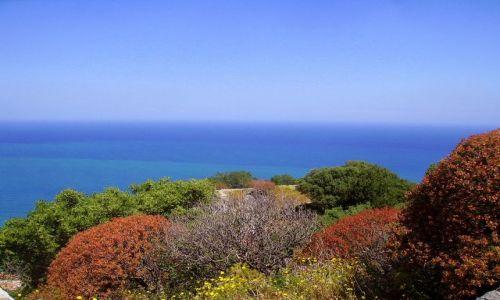 Zdjecie WłOCHY / Sycylia / Cefalu - skała La Rocca / kolory, kolory........