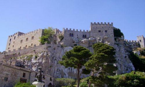 Zdjecie WłOCHY / Sycylia / Cacamo / zamek w Cacamo