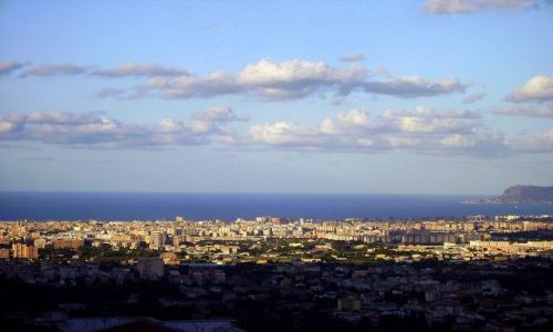 WłOCHY / Sycylia / Palermo / popołudnie z widokiem na Palermo