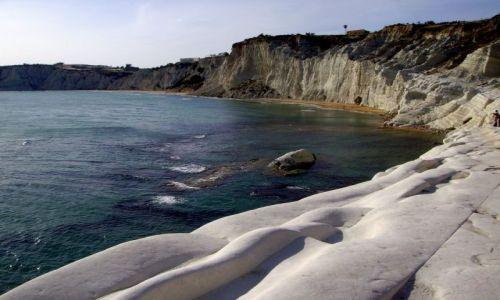 Zdjecie WłOCHY / Sycylia / okolice Agrigento / Konkurs - Biwak w zatoczce przy Scala dei Turchi
