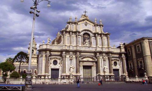 WłOCHY / Sycylia / Katania / kościół katedralny Santa Agata