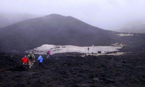 Zdjecie WłOCHY / Sycylia / Etna / kolejny , boczny krater przed nami