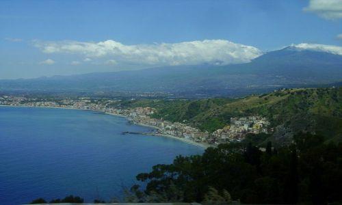 Zdjecie WłOCHY / Sycylia / w drodze do Taorminy / pożegnanie z Etna