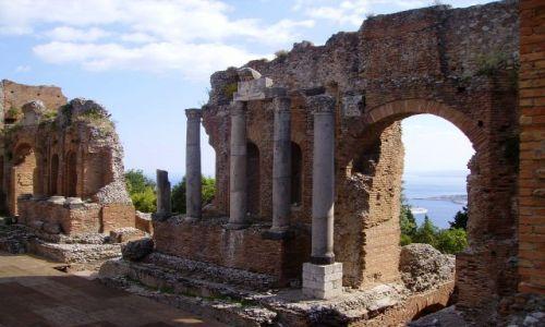 Zdjecie WłOCHY / Sycylia / Taormina / Teatro Greco I