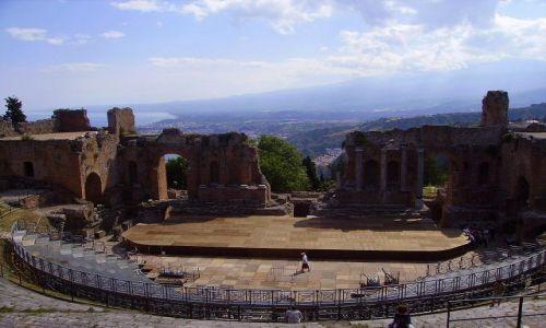 Zdjecie WłOCHY / Sycylia / Taormina / Teatro Greco II