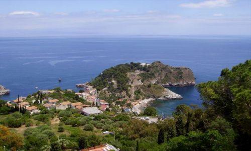 Zdjecie WłOCHY / Sycylia / Taormina / wybrzeże wokół Taorminy