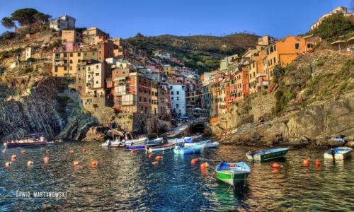 Zdjecie WłOCHY / Cinque Terre / Riomaggiore Marina / Riomaggiore | I