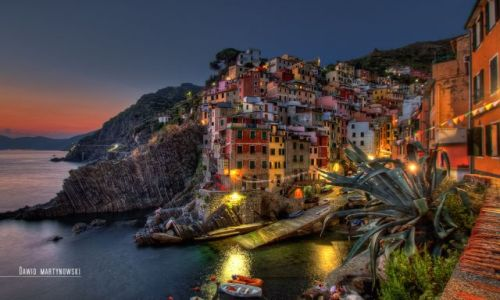 Zdjecie WłOCHY / Cinque Terre / Liguria / Riomaggiore | Italy 2012