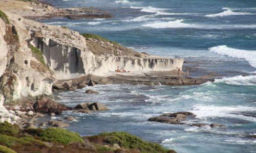 Zdjecie WłOCHY / Sardynia / zachodnie wybrzeże / Potęga morza