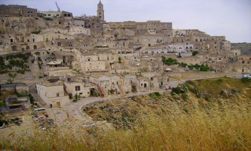 Zdjecie WłOCHY / Basilicata / Matera / kamienna Matera
