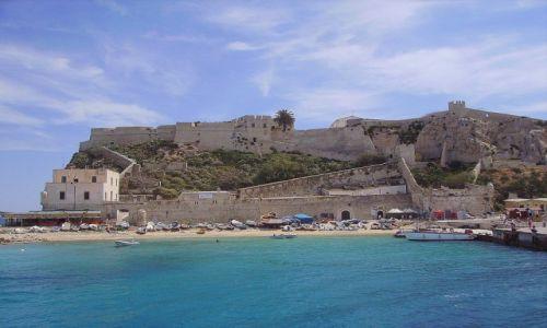 Zdjecie WłOCHY / Wyspy Tremiti / San Nicola / wyspa San Nicola