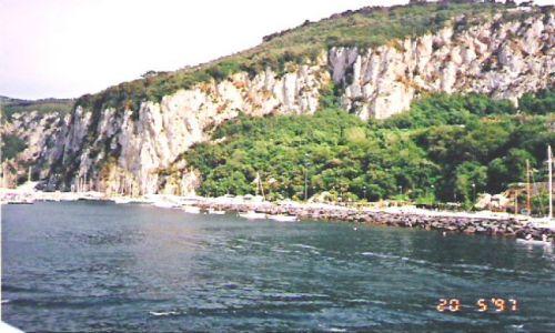 Zdjęcie WłOCHY / brak / Capri / Wybrzeże wyspy Capri