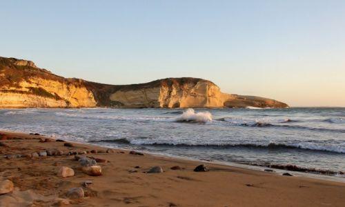 Zdjecie WłOCHY / Sardynia / Santa Catarina di Pittinuri / Wieczorna plaża