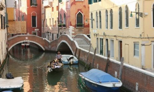 Zdjecie WłOCHY / Wenecja / Wenecja / Zaułek na kanale?