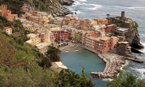 Zdjęcie WłOCHY / Cinque Terre / Vernazza / Port Vernazza