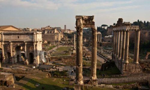 Zdjecie WłOCHY / Rzym / Rzym / Forum Romanum