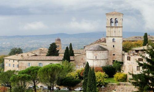 Zdjecie WłOCHY / Perugia / Asyż / Asyż jesienią