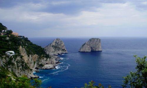 Zdjęcie WłOCHY / Campania / Capri / Faraglioni di Capri