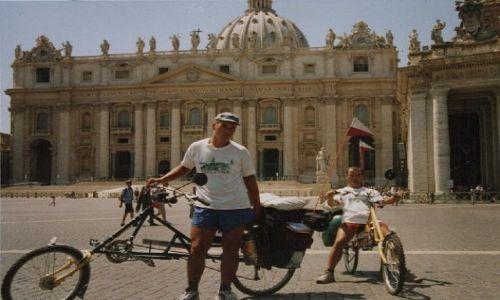 Zdjecie WłOCHY / Citta del Vaticano / Plac św. Piotra w Rzymie / Bazylika św. Pi