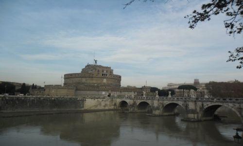 WłOCHY / - / Rzym / Caste Sant Angelo