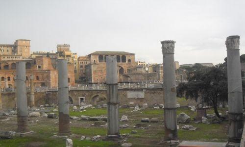 WłOCHY / - / Rzym / Foro Traiano