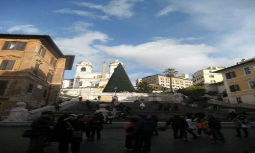 WłOCHY / - / Rzym / Piazza di Spagna