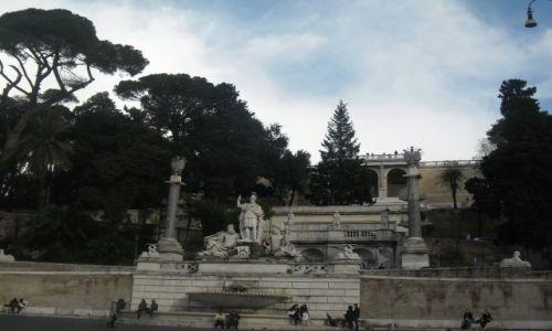 WłOCHY / - / Rzym / Piazza del Popolo