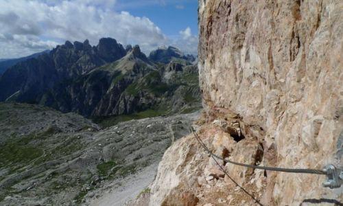 Zdjecie WłOCHY / Alpy Wschodnie / Dolomity / Konkurs Wąska ścieżka przez życie