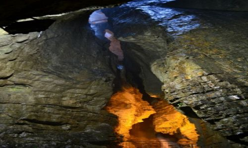 Zdjęcie WłOCHY / TRYDENT / Varone / Cascata Grotta Varone