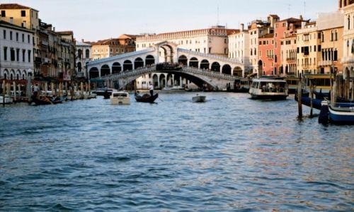 Zdjecie WłOCHY / brak / Wenecja - most Rialto (Canale Grande) / Wenecja