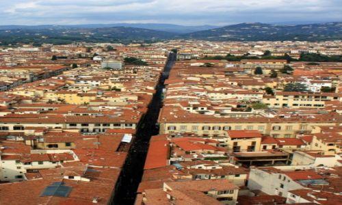 Zdjecie WłOCHY / Toskania / Florencja / Nad dachami Florencji