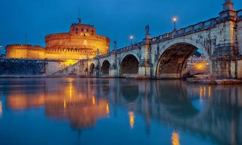 WłOCHY / Rzym / Mauzoleum Hadriana / Castel Sant'Angelo