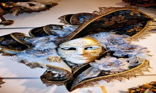 Zdjecie W�OCHY / brak / Wenecja - maska karnawa�owa / Wenecja