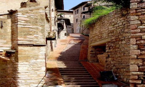 Zdjęcie WłOCHY / Umbria / Asyż / w zaułkach Asyżu