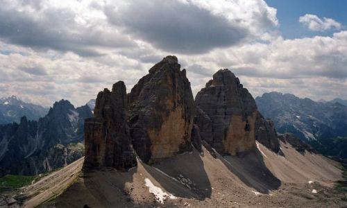 Zdjecie WłOCHY / Dolomity di Sesto / Tre Cime di Lavaredo / Czy tędy biegni