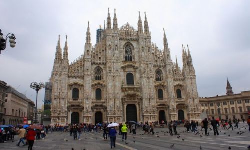 W�OCHY / W�ochy / Mediolan / Katedra w Mediolanie