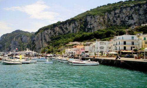 Zdjęcie WłOCHY / Kampania / Capri / nabrzeże Capri...