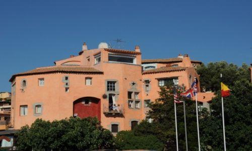 Zdjecie WłOCHY / Sardynia /  Costa Smeralda / Hotel na Costa Smeralda