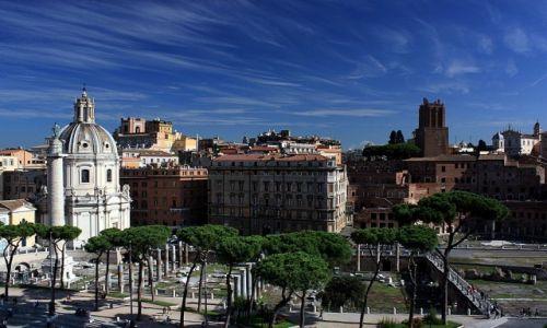 Zdjecie WłOCHY / Lazio / Rzym / Cirrusy nad Wiecznym Miastem