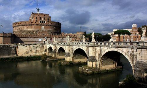 Zdjęcie WłOCHY / Lazio / Rzym / Castel Sant'Angelo