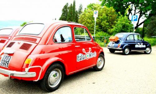 Zdjecie WłOCHY / Toskania / Florencja / ach te włoskie auta...