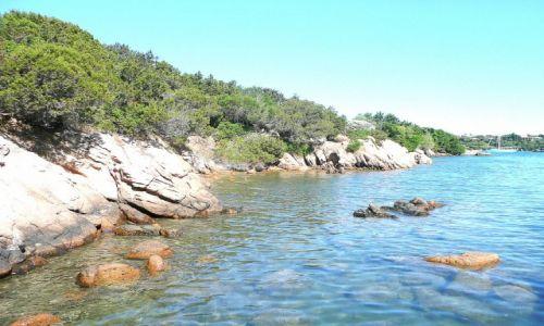 Zdjęcie WłOCHY / Costa Smeralda / Puntaldia / skałki Puntaldii