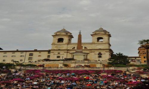 WłOCHY / Lazio / Rzym / Rzym-Plac Hiszpański