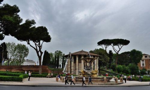 WłOCHY / Lazio / Rzym / Piazza della Bocca della Verita-Rzym
