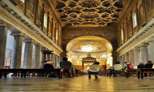 Zdjęcie WłOCHY / Lazio / Rzym / Santa Maria in Trastevere