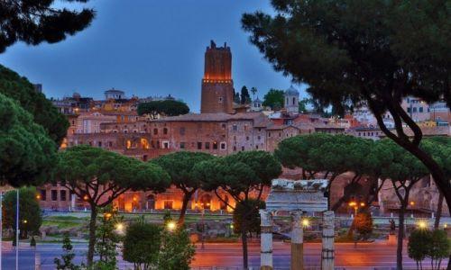 WłOCHY / Lazio / Rzym / Widok z Kapitolu