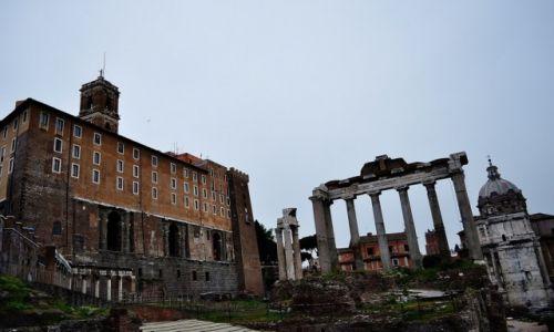 WłOCHY / Lazio / Rzym / Kapitol, Rzym