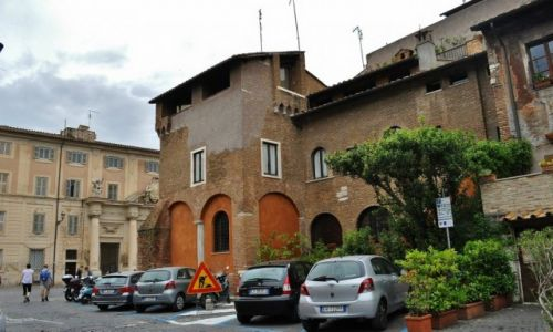 WłOCHY / Lazio / Rzym / Zatybrze, Rzym